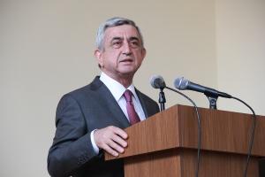 AGO - Pres Sargsyan