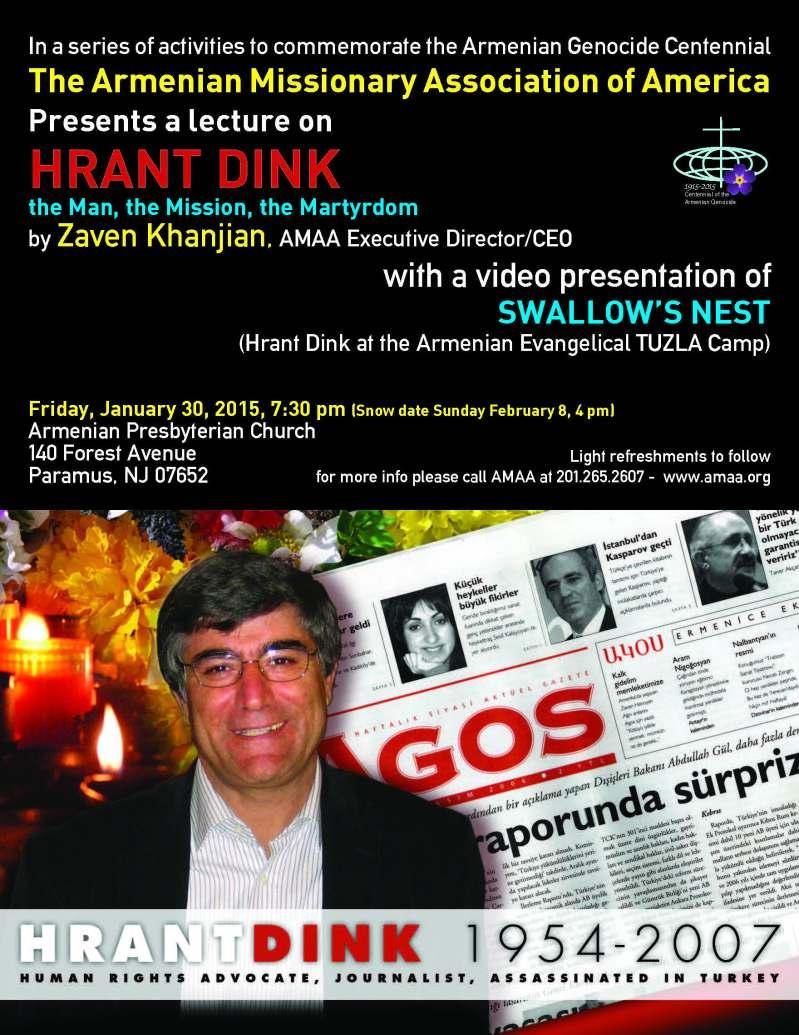 Hrant Dink Flyer