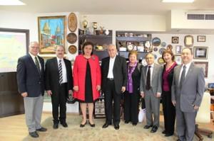 Delegation to Ministry of Diaspora