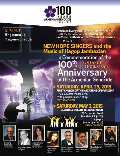 Hope Singers flyer
