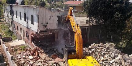 Camp Armen Partial Demolition