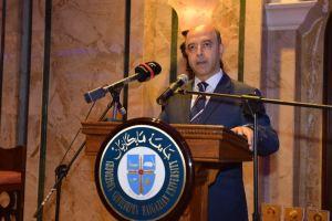President of Haigazian University, Rev. Dr. Paul Haidostian