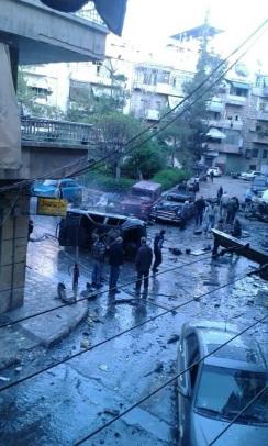 Mortar bomb hit Nor kugh